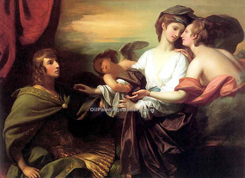"""Helen Brought from Paris"" by  Benjamin West"