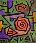 Heroic Roses by  Paul Klee (Painting ID: AK-0435-KA)