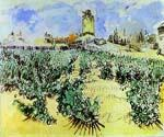High Hill by  Vincent Van Gogh (Painting ID: VG-0172-KA)