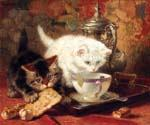 High Tea by  Henriette Ronner Knip (Painting ID: AN-1100-KA)