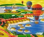 Hot Air Baloons  (Painting ID: GE-2309-A)