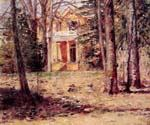 House In Virgina by  Theodore Robinson (Painting ID: LA-3017-KA)