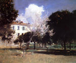 House and Garden by  John Singer Sargent (Painting ID: LA-2328-KA)