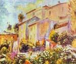 House at Cagnes by  Pierre Auguste Renoir (Painting ID: CL-4610-KA)