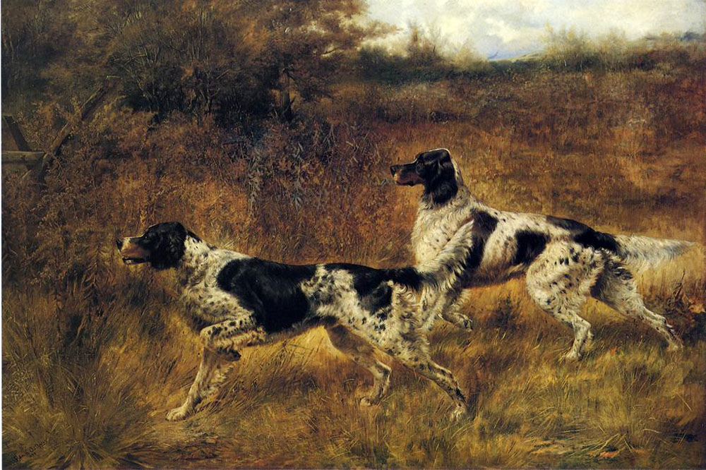 """Hunting Dogs 47"" by  Edmund H. Osthaus"