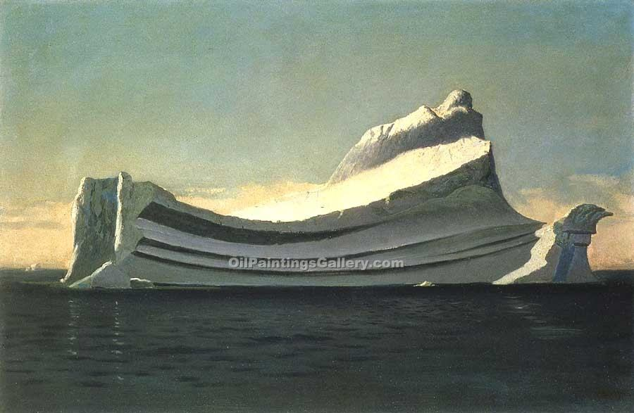 """Iceberg"" by  William Bradford"
