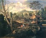 Ideal Landscape by  Nicolas Poussin (Painting ID: CM-1432-KA)