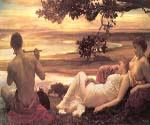 Idyll by   Leighton Frederic (Painting ID: CL-2956-KA)