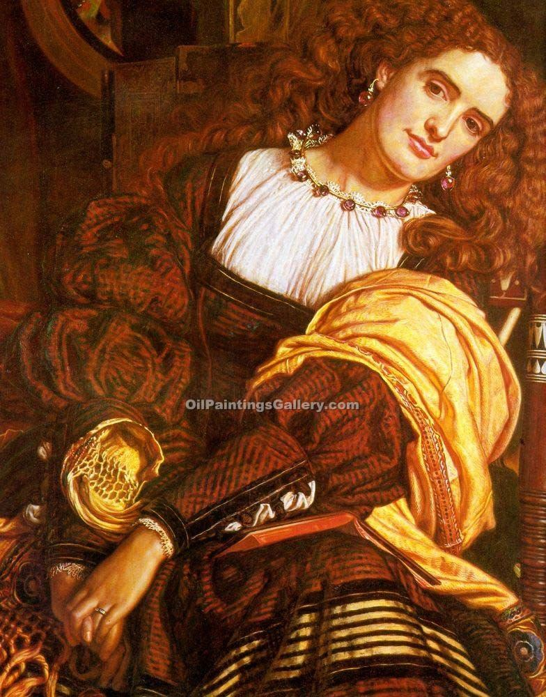 """Il Dolce Far Niente"" by  William Holman Hunt"