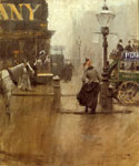 Impressions of London by  Anders Zorn (Painting ID: LA-1748-KA)