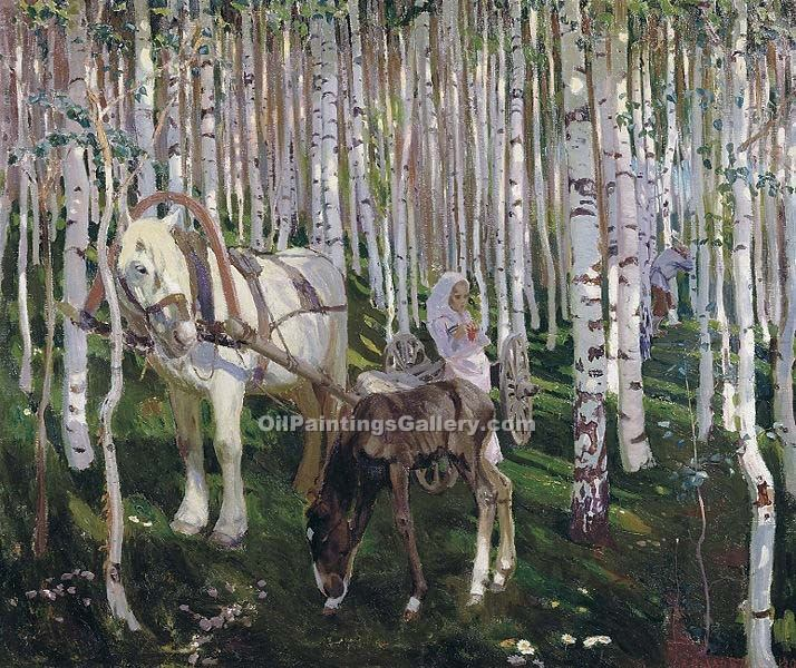"""In The Forest"" by  Arkady Alexandrovich Rylov"