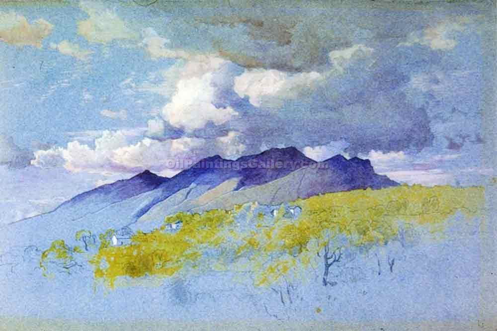 """In the Appenines"" by  William Stanley Haseltine"