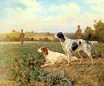 In the Field Shooting by  Thomas Blinks (Painting ID: AN-0403-KA)