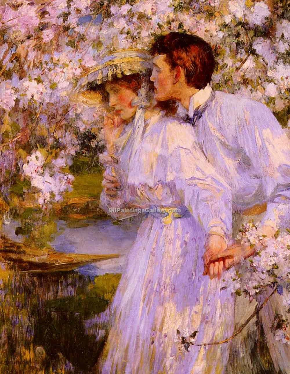 """In the Springtime 91"" by  James Jebusa Shannon"