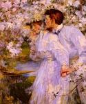 In the Springtime 91 by  James Jebusa Shannon (Painting ID: EI-0691-KA)