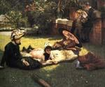 In the Sunshine by  James Tissot (Painting ID: CL-4285-KA)