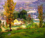 In the Whitewater Valley by  John Ottis Adams (Painting ID: LA-3296-KA)