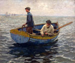 In the Whiting Ground by  Harold Harvey (Painting ID: ED-0869-KA)