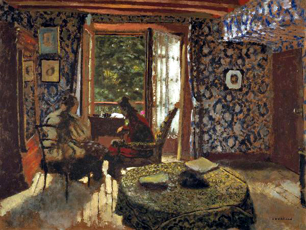 """Interieur"" by  Edouard Vuillard"