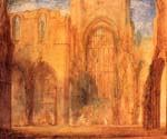 Interior of Fountains Abbey Yorkshire by  Joseph Mallord William Turner (Painting ID: CI-1446-KA)