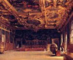Interior of the Doge by  John Singer Sargent (Painting ID: CI-0260-KA)