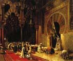 Interior of the Mosque at Cordova by  Edwin Lord Weeks (Painting ID: GE-1264-KA)