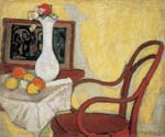 Interior with Thonet chair by  Sandor Galimberti (Painting ID: SL-0752-KA)