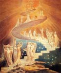 Jacobs Ladder by  William Blake (Painting ID: AF-0490-KA)