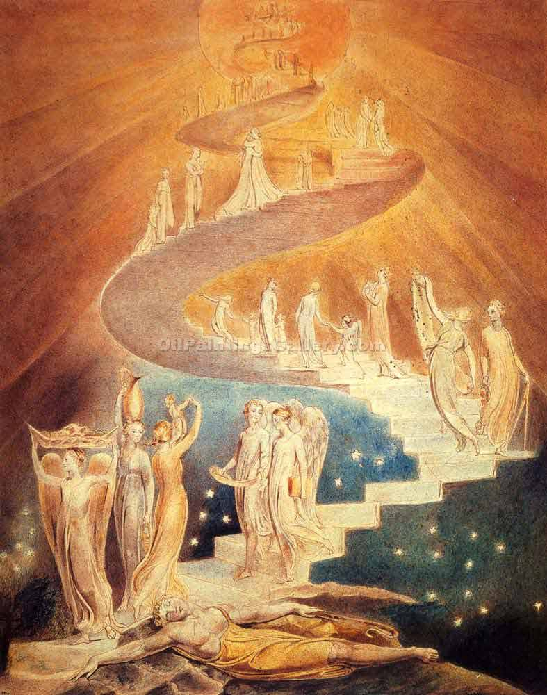 """Jacobs Ladder"" by  William Blake"