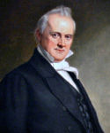 James Buchanan, 15th President, Painted by George Peter Alexander Healy  (Painting ID: CM-0015-KA)