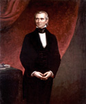 James Knox Polk, 11th President, Painted by George Peter Alexander Healy  (Painting ID: CM-0011-KA)