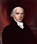 James Madison, 4th President, Painted by John Vanderlyn  (Painting ID: CM-0004-KA)