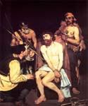 Jesus Mocked by the Soldiers by  Edouard Manet (Painting ID: CM-1100-KA)
