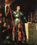 Joan of Arc 02 by  Jean Auguste Ingres (Painting ID: IN-0802-KA)