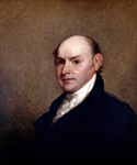 John Quincy, 6th President, Painted by Gilbert Stuart  (Painting ID: CM-0006-KA)
