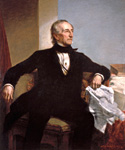 John Tyler, 10th President, Painted by George Peter Alexander Healy  (Painting ID: CM-0010-KA)