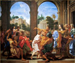 Joseph Recognized by His Brothers by  Baciccio (Painting ID: DA-0118-KA)