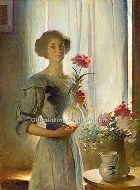 """June"" by  John White Alexander"
