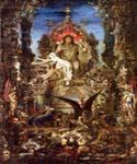 Jupiter and Semele by  Gustave Moreau (Painting ID: CM-2144-KA)