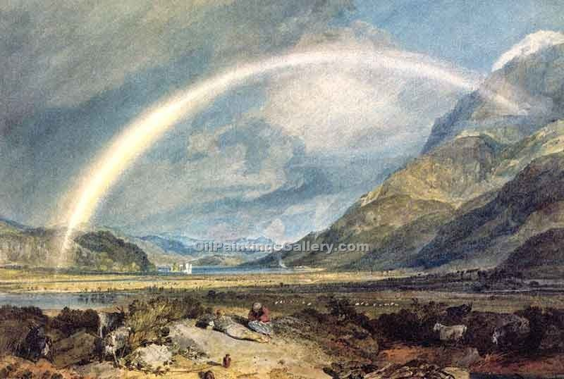 """Kilchern Castle Scotland"" by  William Turner"