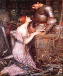 Knight by  John William Waterhouse (Painting ID: CL-4181-KA)