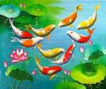 Koi Fish 02  (Painting ID: AN-1502-KA)