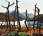 Cranberry Lake by  Franklin Carmichael (Painting ID: LA-0133-KA)