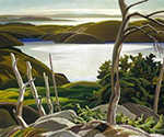 Frood Lake by  Franklin Carmichael (Painting ID: LA-0135-KA)