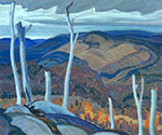A Grey Day by  Franklin Carmichael (Painting ID: LA-0136-KA)