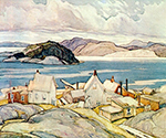 Jackknife Village by  Franklin Carmichael (Painting ID: LA-0138-KA)