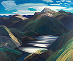Light and Shadow by  Franklin Carmichael (Painting ID: LA-0139-KA)
