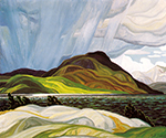 Lake Wabagishik by  Franklin Carmichael (Painting ID: LA-0140-KA)