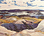 Bay of Islands by  Franklin Carmichael (Painting ID: LA-0141-KA)