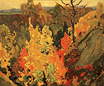Autumn by  Franklin Carmichael (Painting ID: LA-0143-KA)
